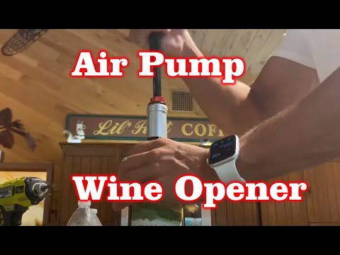 Pocket Air Pump Wine Opener – Amazon Review – Gift Ideas Under $20