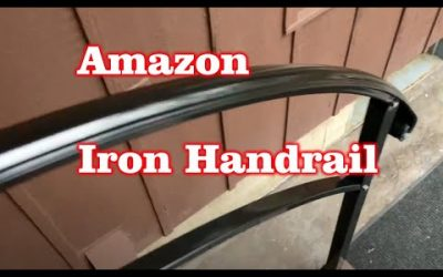Install & Review Iron Hand Rail from Amazon