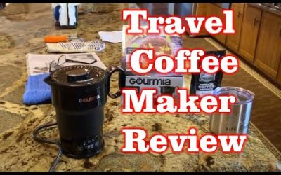Coffee Maker – Amazon Review – Gifts Under $20 – Gourmia Travel Kettle