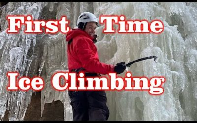 First Time ICE CLIMBING! Flume Gorge , NH – Ice Fest 2020