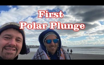 First Polar Plunge – Newport RI